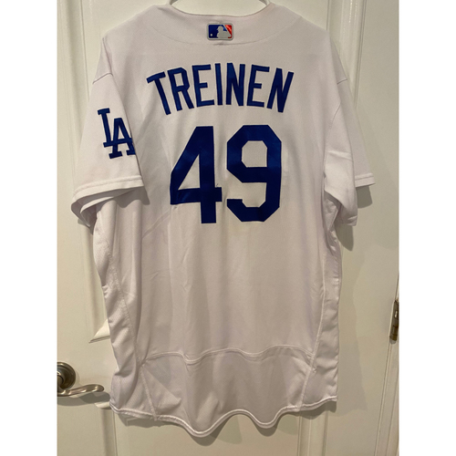 Photo of Blake Treinen 2020 Game-Used NLCS Jersey - Game 7