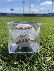Photo of Dermis Garcia Signed Baseball