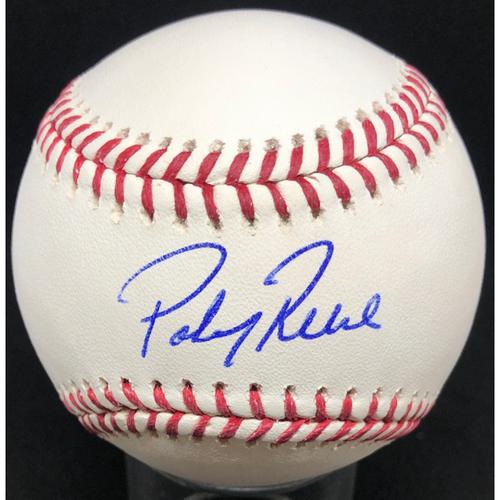 Photo of Pokey Reece -  Autographed Official Major League Baseball