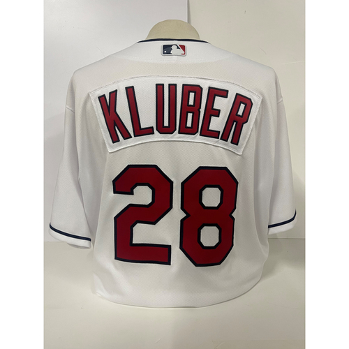 Photo of Team Issued Jersey - Corey Kluber #28