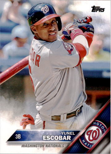 Photo of 2016 Topps #247 Yunel Escobar