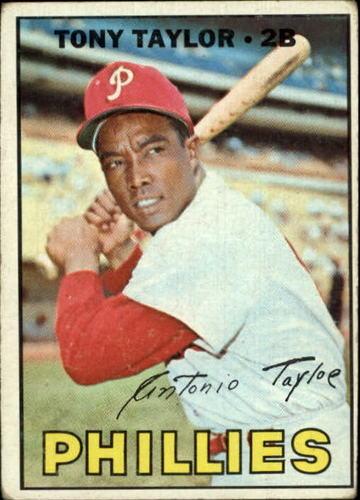 Photo of 1967 Topps #126 Tony Taylor