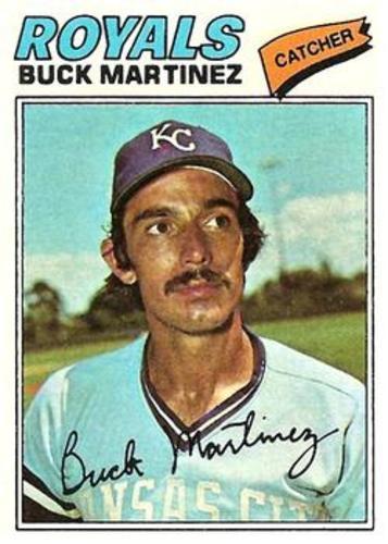 Photo of 1977 Topps #46 Buck Martinez