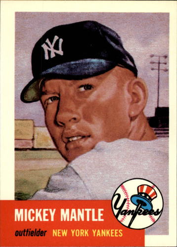 Photo of 1991 Topps Archives 1953 #82 Mickey Mantle
