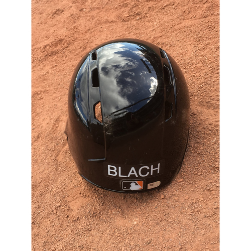 Photo of San Francisco Giants - 2017 Team-Issued Spring Training Helmet - #51 Ty Blach - Size 7