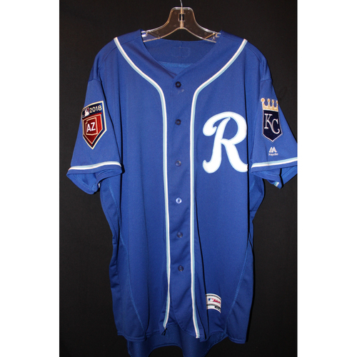 Photo of Game-Used Spring Training Jersey: Jorge Soler (Size 46)