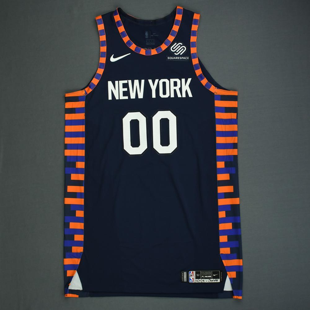 promo code dbcae 3f34b Enes Kanter - New York Knicks - Game-Worn City Edition ...