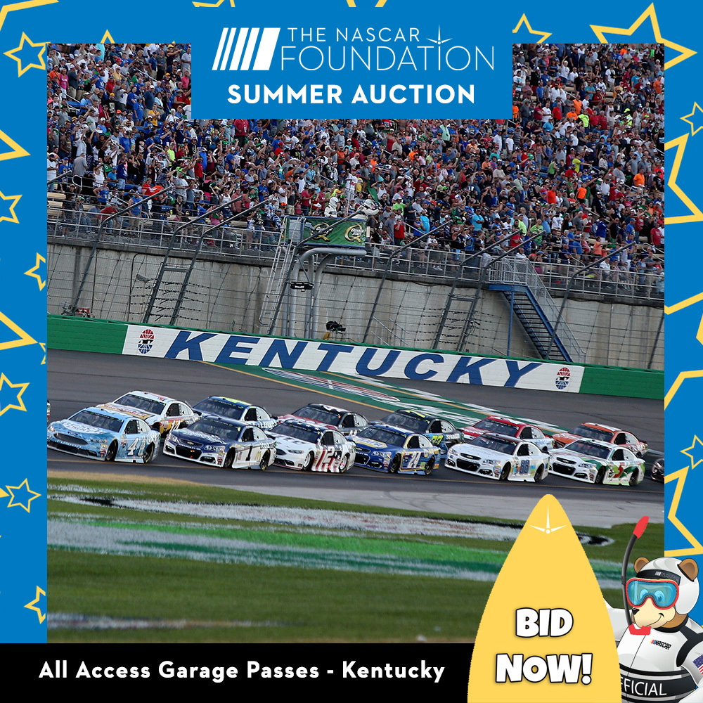 All Access Garage Passes at Kentucky!