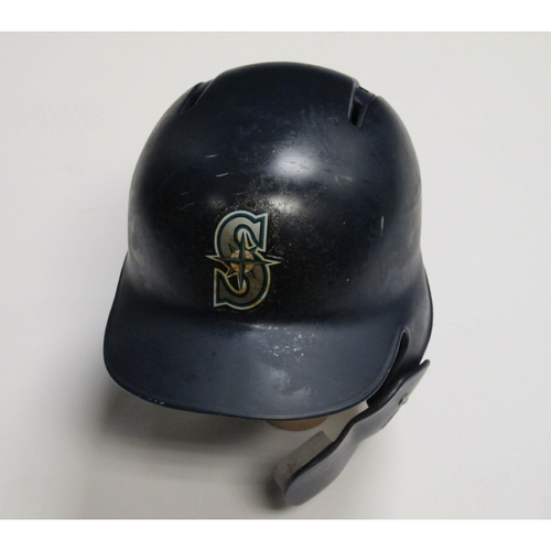 Photo of 2018 Team-Issued Navy Batting Helmet: Mitch Haniger