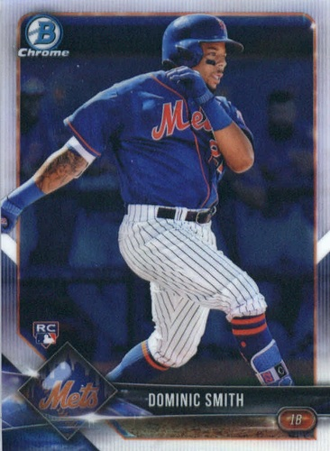 Photo of 2018 Bowman Chrome #44 Dominic Smith RC