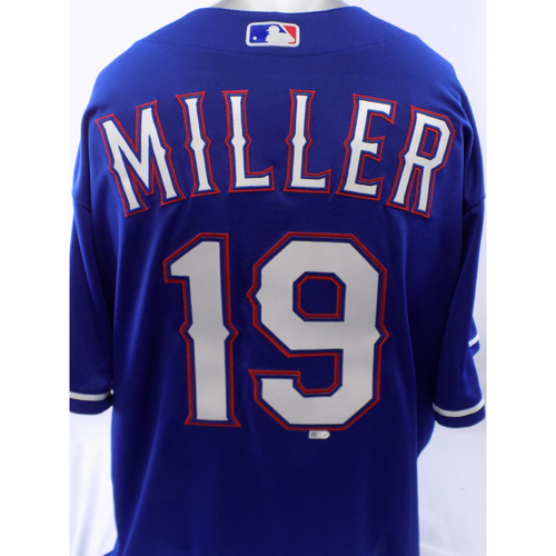 Photo of Team-Issued Blue Shelby Miller Jersey - Size 46