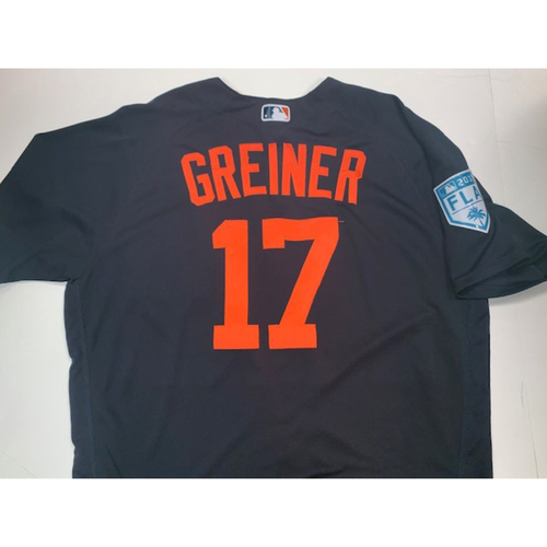Photo of Team-Issued Grayson Greiner Road Spring Training Jersey