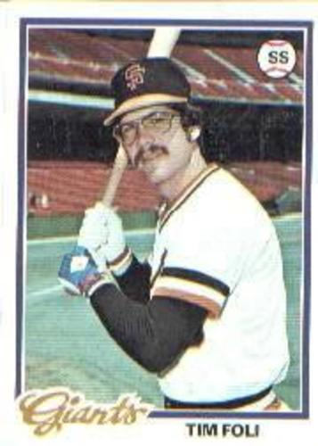 Photo of 1978 Topps #167 Tim Foli