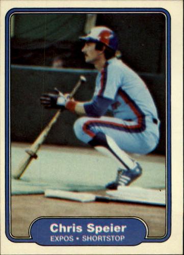 Photo of 1982 Fleer #209 Chris Speier