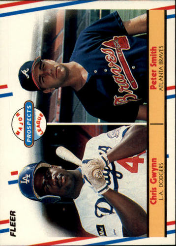 Photo of 1988 Fleer #647 Pete Smith RC/Chris Gwynn RC
