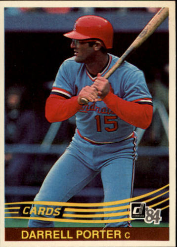 Photo of 1984 Donruss #303 Darrell Porter
