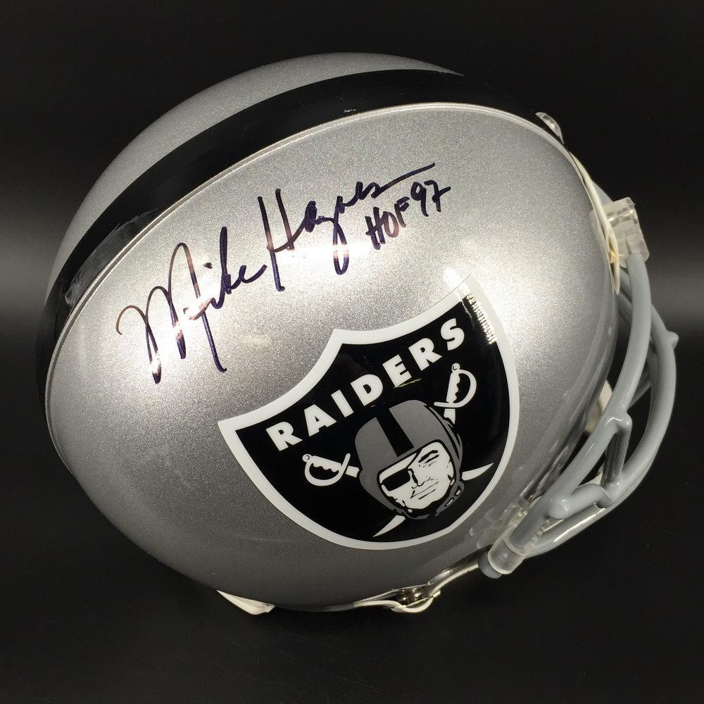 HOF - Raiders Mike Haynes Signed Proline Helmet