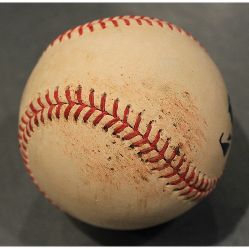 Photo of Game-Used Baseball: Nicky Lopez Single off of Wilmer Font (TOR @ KC - 7/30/19)