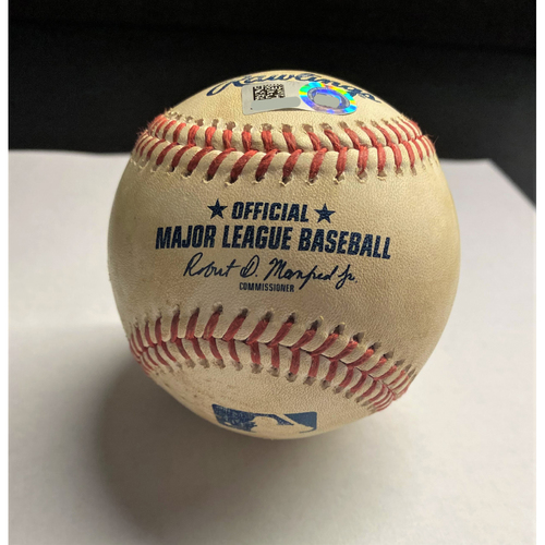 JaCoby Jones 2020 Opening Day Single Baseball (MLB AUTHENTICATED)