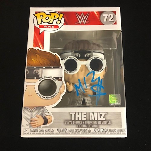 Photo of The Miz SIGNED POP! Vinyl Figure