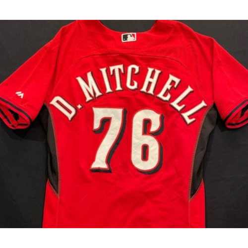 Photo of D. MITCHELL -- Authentic Reds Jersey -- $1 Jersey Auction -- $5 Shipping -- Size 44 (Not MLB Authenticated)