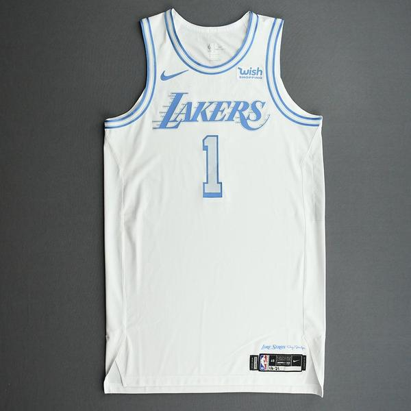Image of Kentavious Caldwell-Pope - Los Angeles Lakers - Christmas Day' 20 - Game-Worn City Edition Jersey
