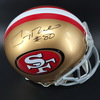 PCC - 49ers Jerry Rice Signed Proline Helmet