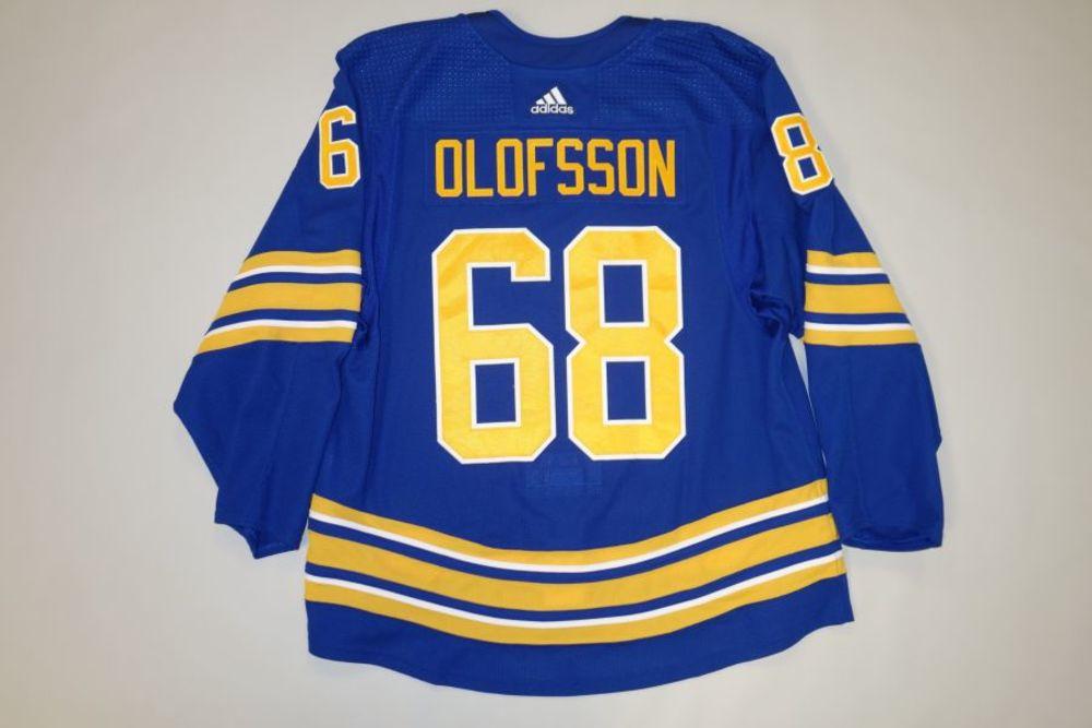 Victor Olofsson 2020-21 Buffalo Sabres Set 2 Home Jersey