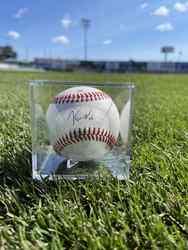 Photo of Ken Waldichuk Signed Baseball
