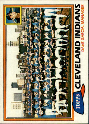 Photo of 1981 Topps #665 Indians Team CL/Dave Garcia MG