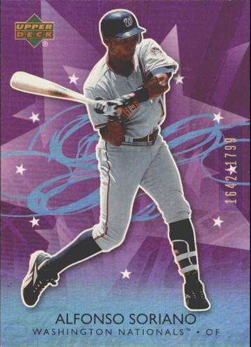 Photo of 2006 Upper Deck Future Stars Purple #75 Alfonso Soriano