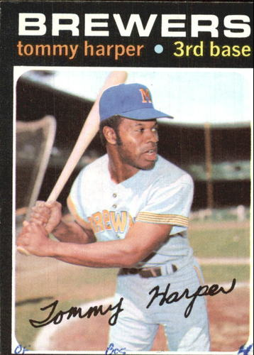 Photo of 1971 Topps #260 Tommy Harper