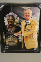 HOF - COLTS BILL POLIAN SIGNED 11X14 FRAMED PICTURE