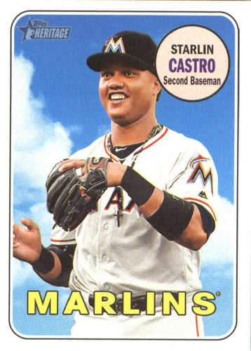 Photo of 2018 Topps Heritage #87 Starlin Castro
