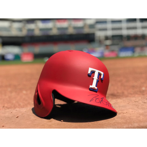 Photo of Joey Gallo Autographed Authentic Matte Red Batting Helmet