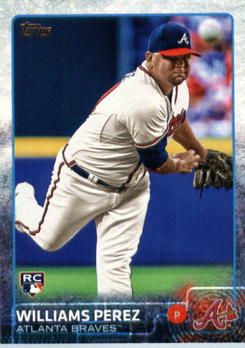 Photo of 2015 Topps Update #US289 Williams Perez RC