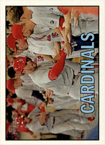 Photo of 2016 Topps Heritage #365 St. Louis Cardinals