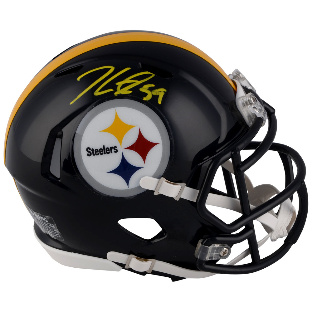 Jake Guentzel Pittsburgh Penguins Autographed Pittsburgh Steelers Mini Helmet