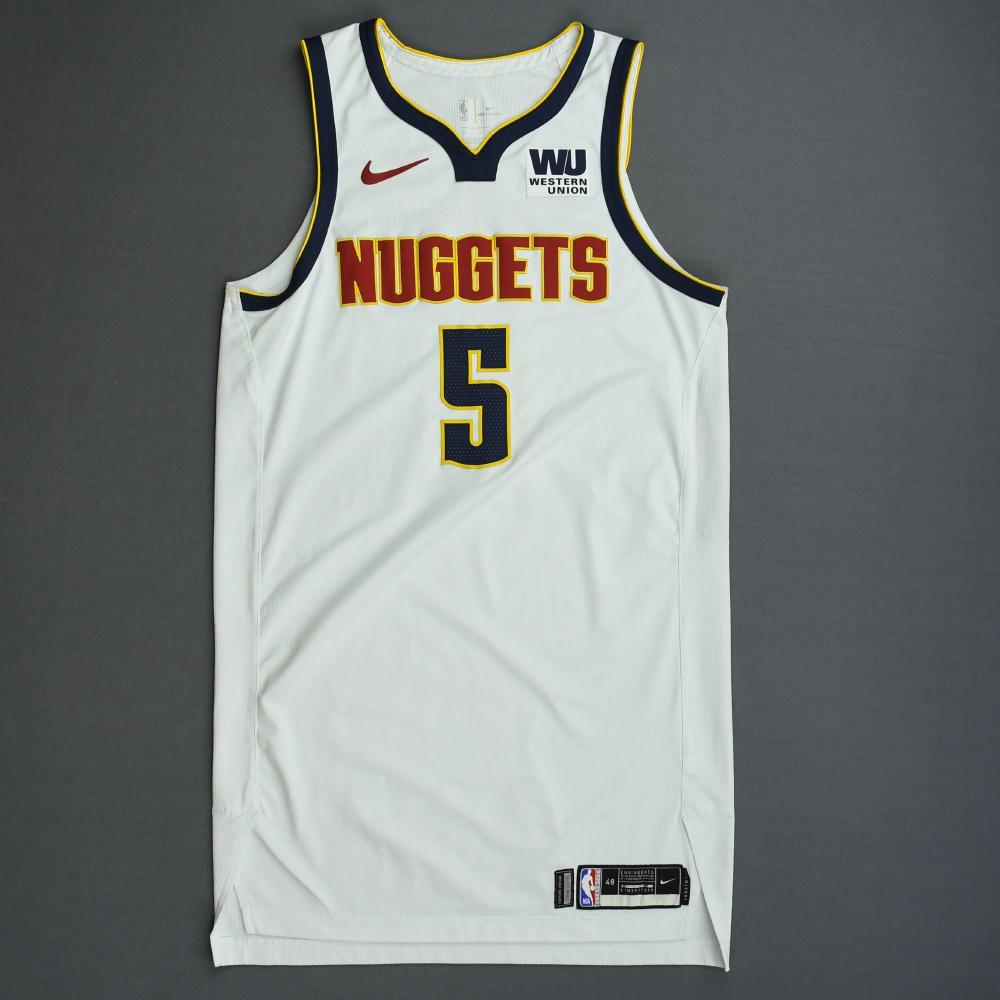Will Barton - Denver Nuggets - 2019 NBA Playoffs - Game-Worn White Association Edition Jersey