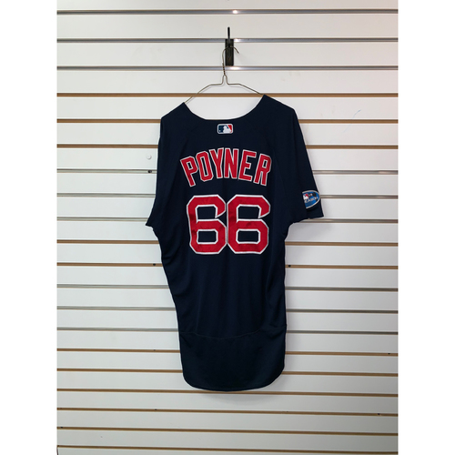 Bobby Poyner Game Used September 21, 2018 Road Alternate Jersey