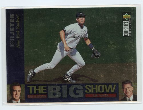 Photo of 1997 Collector's Choice The Big Show #34 Derek Jeter