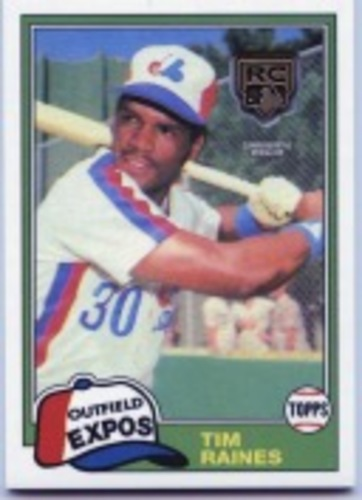 Photo of 2020 Topps Rookie Card Retrospective RC Logo Medallions #RCRTR Tim Raines