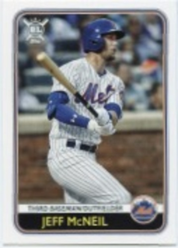 Photo of 2020 Topps Big League #42 Jeff McNeil