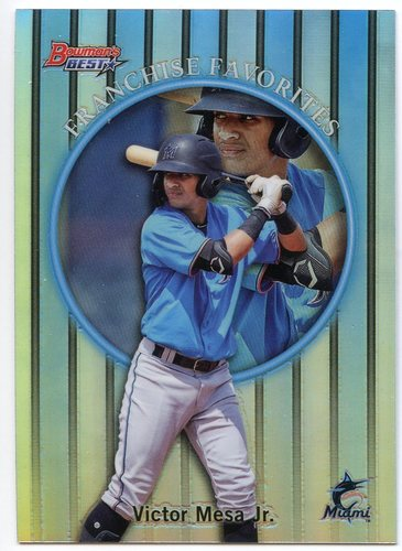 Photo of 2019 Bowman's Best '99 Franchise Favorites Refractors #99FFVMJ Victor Mesa Jr.
