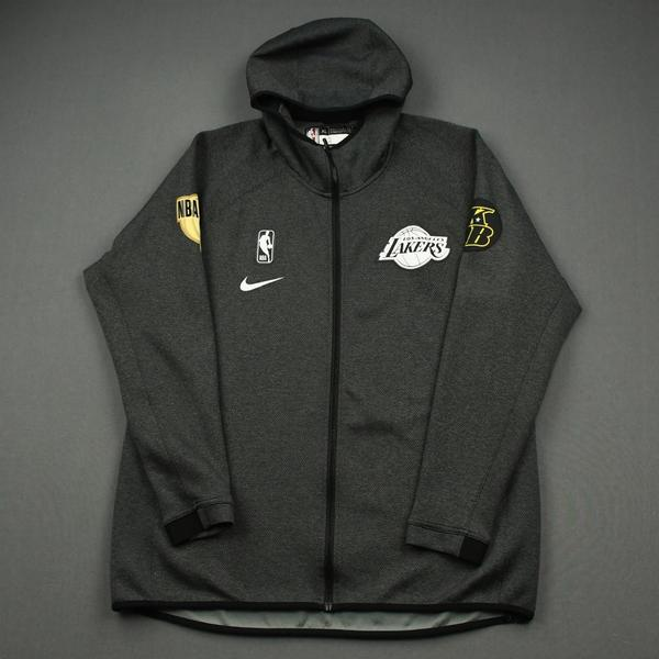 Image of Devontae Cacok - Los Angeles Lakers - 2020 NBA Finals - Game-Issued Hooded Warmup Jacket