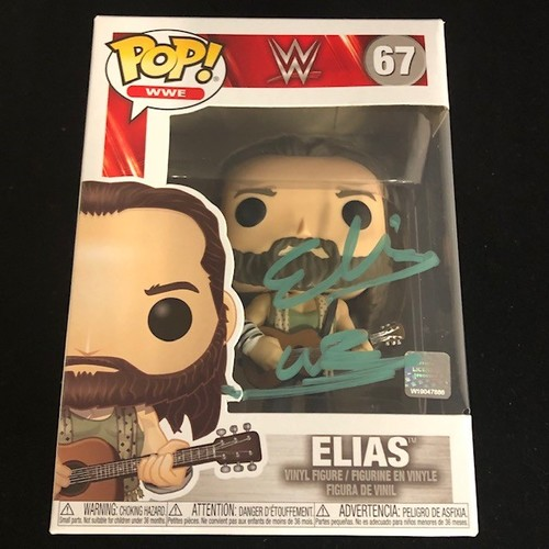 Elias SIGNED POP! Vinyl Figure