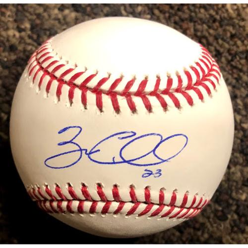 Zac Gallen Autographed Baseball
