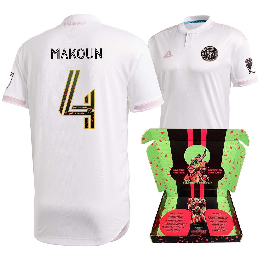 Christian Makoun Inter Miami FC Match-Used & Signed