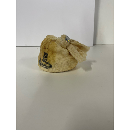Photo of Game-Used Rosin Bag - Detroit Tigers at Cleveland Indians 9/12/2017 - Indians win 20th consecutive game