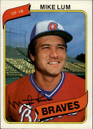 Photo of 1980 Topps #7 Mike Lum